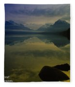 To Sit And Dream Fleece Blanket