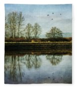 To Stand And Stare - West Coast Art By Jordan Blackstone Fleece Blanket