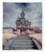 To The Mansion Fleece Blanket