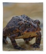 Toad Takes A Stance Fleece Blanket