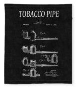 Tobacco Pipe Patent 4 Fleece Blanket