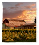 Tobacco Row Fleece Blanket