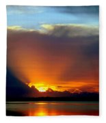 Today Is Forever Lost Tomorrow Fleece Blanket