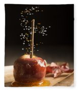 Toffee Apple Fleece Blanket
