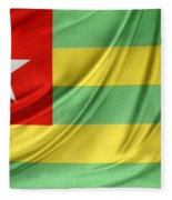 Togo Flag Fleece Blanket