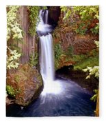 Tokatee Falls 1 Fleece Blanket