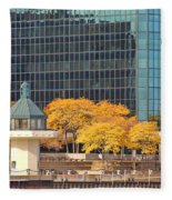 Toledo Riverfront 4195 Fleece Blanket