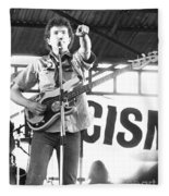 Tom Robinson Band Fleece Blanket