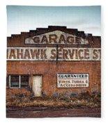 Tomahawk Garage Fleece Blanket