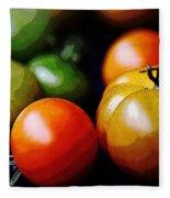10044 Tomatoes Fleece Blanket