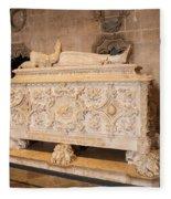 Tomb Of Vasco Da Gama Fleece Blanket