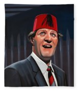 Tommy Cooper Fleece Blanket