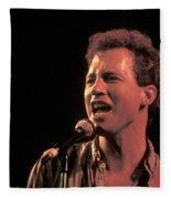 Musician Tommy Tutone Fleece Blanket