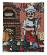Tommys Italian Kitchen Fleece Blanket