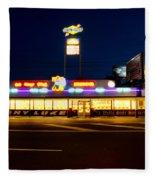 Tony Lukes - Cheese Steaks Fleece Blanket