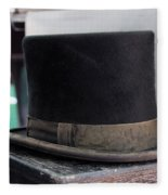 Top Hat Fleece Blanket