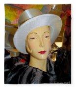 Top Hat Tallulah Fleece Blanket
