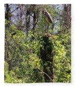 Top Of The Glades Fleece Blanket