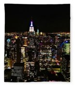 Top Of The Rock Fleece Blanket
