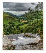 Top Of The Waterfall Fleece Blanket