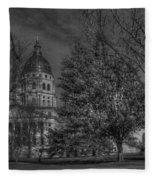 Topeka Capital Fleece Blanket