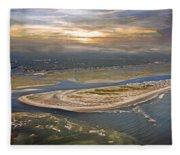 Topsail Island Paradise Fleece Blanket
