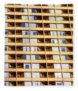 Toronto Apartment Building Fleece Blanket