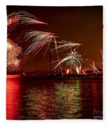 Toronto Fireworks Fleece Blanket
