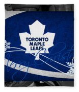 Toronto Maple Leafs Christmas Fleece Blanket