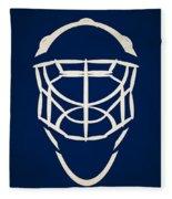 Toronto Maple Leafs Goalie Mask Fleece Blanket