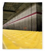 Toronto Subway Station Fleece Blanket