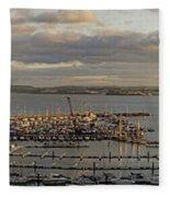 Torquay Panorama Fleece Blanket