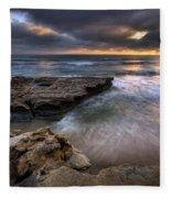 Torrey Pines Flat Rock Fleece Blanket