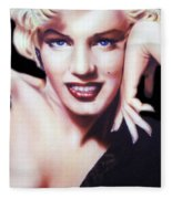 Totally Marilyn Fleece Blanket