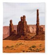 Totem Pole Buttes Fleece Blanket