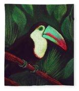 Toucan Fleece Blanket