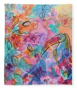 Toucan Dreams Fleece Blanket