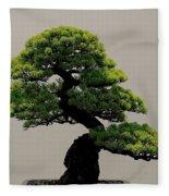Touch Of Bonsai Fleece Blanket