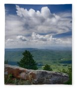 Touch The Clouds  Fleece Blanket