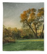 Touched By Light Fleece Blanket by Garvin Hunter