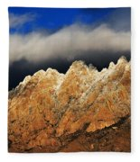 Touching The Clouds Fleece Blanket