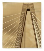 Touching The Sky Fleece Blanket