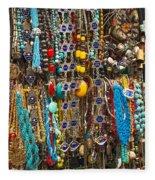 Tourist Souvenirs In Jersualem Israel Fleece Blanket