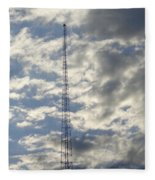 Tower After The Rain Fleece Blanket