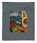 Tower And Toast Fleece Blanket
