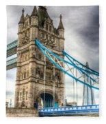 Tower Bridge And The Shard Fleece Blanket