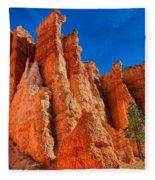 Towering Pinnacles Fleece Blanket