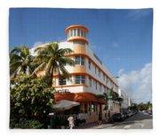 Towers Hotel - Miami Fleece Blanket