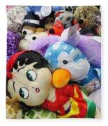 Toy Bin Fleece Blanket