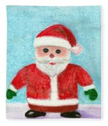 Toy Santa Fleece Blanket